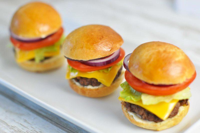Sliders - mini burgers