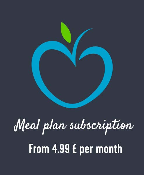 Meal plan subscription